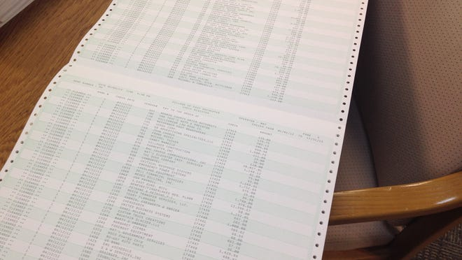 After switching back to Government Services Automated in November, county officials questioned whether they had enough paper for their dot-matrix printers, according to emails from the the Office of Information Technology. Rutherford County first contracted with GSA in 1989 for a court-management computer system.