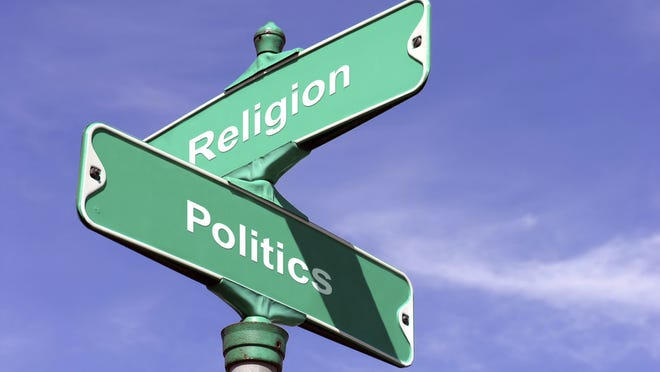 The group Baptist21 wants a clear division between the church and the Republican Party.
