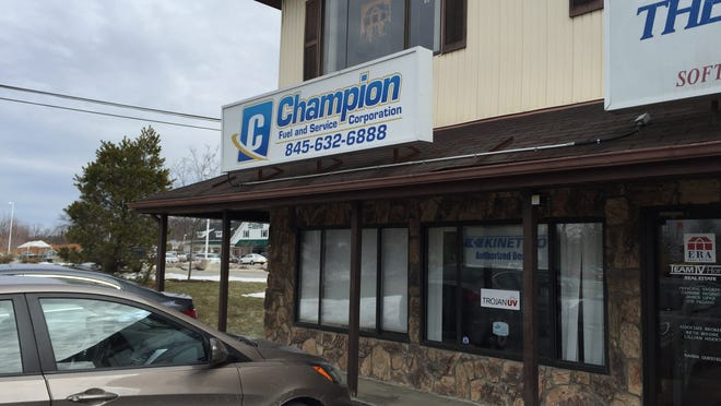 Champion Fuel has vacated its former offices at this building on Route 9 in the Town of Wappinger.