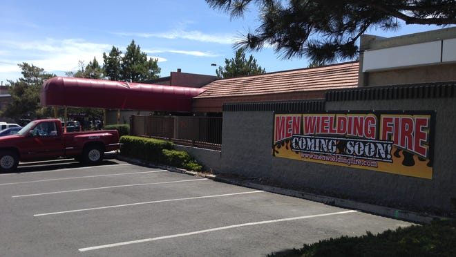 The Men Wielding Fire restaurant and catering firm is preparing to move from downtown Reno to this Midtown building just north of Sports West Athletic Club near the intersection of South Virginia and Mount Rose Streets