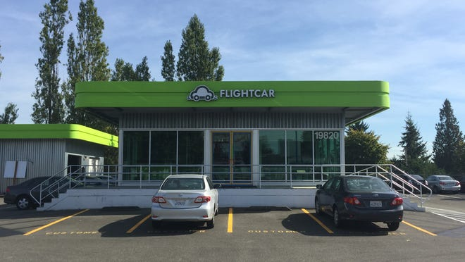 San Francisco-based startup FlightCar has launched in a dozen cities nationwide, including Seattle. On Tuesday, the company launched at PDX.