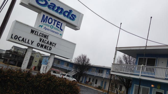 The Sands Motel in Fenwick Island sold for $1.6 million recently to an Ocean City hotelier.