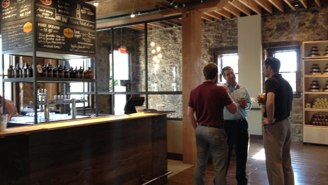 Prairie Berry East Bank includes several bars, a lunch area and a retail space.