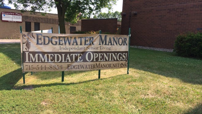 The city of Stevens Point will accept proposals to buy or redevelop Edgewater Manor, a senior housing facility on Water Street.  Stevens Point Journal Media file photo