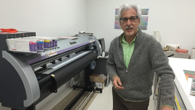 Marc Weinstein, the president of Graphics by Color Group in Hawthorne, explains how his photo business evolved into a company that provides all kinds of graphic imaging.
