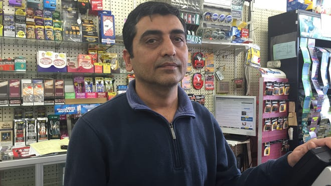 Arvind Desai, 43, is the the owner of Lucky Stationary. The Chestnut Ridge convenience store sold someone a Powerball ticket worth $1 million.