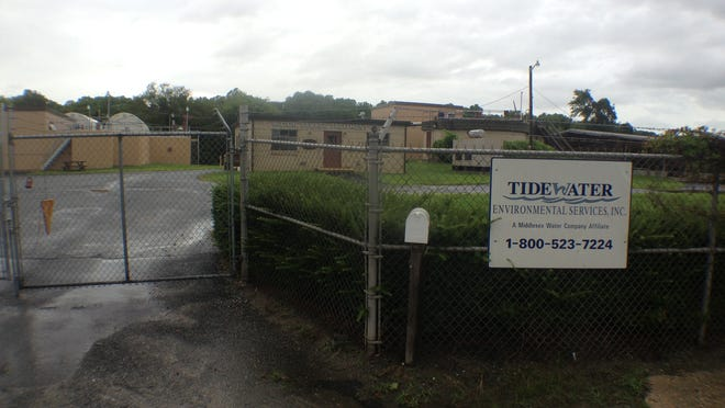Tidewater Utilities' wastewater treatment plant in Milton.