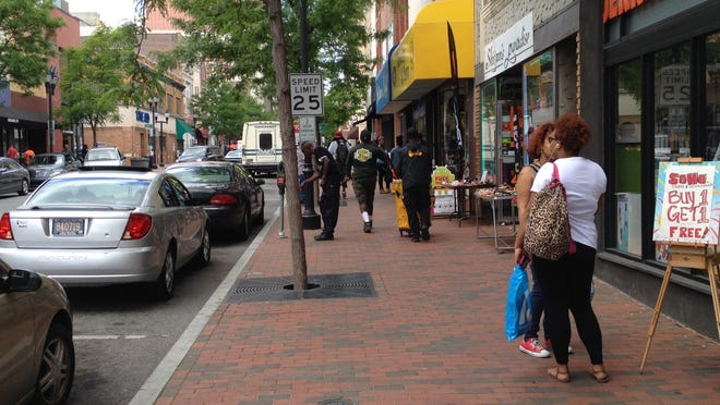 Mayor Dennis P. Williams has ordered increased police presence in downtown Wilmington over the past several months, including on Market Street.