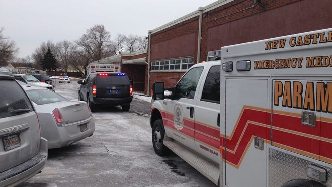 New Castle County paramedics pronounced a shooting victim dead Monday afternoon at Rose Hill Community Center on Lambson Lane between Wilmington and New Castle.
