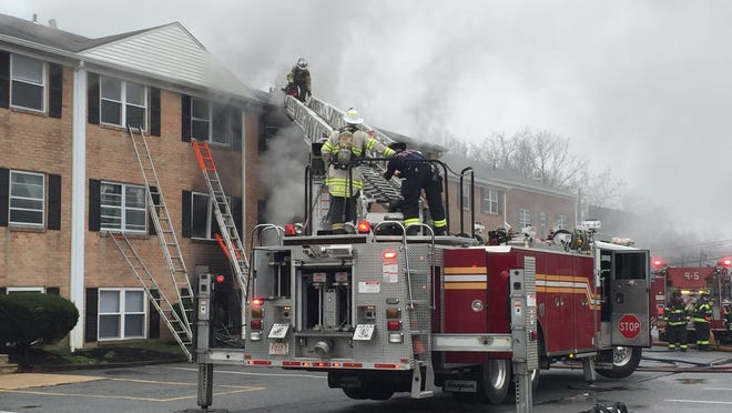 One person died Friday morning during a fire at Possum Park Apartments in Newark, according to the Delaware State Fire Marshal.