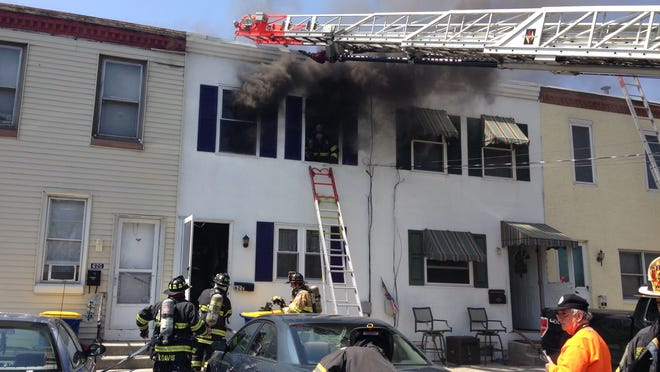 This fire Wednesday in the Dobbinsville section of New Castle was ruled accidental, state fire officials said Thursday.