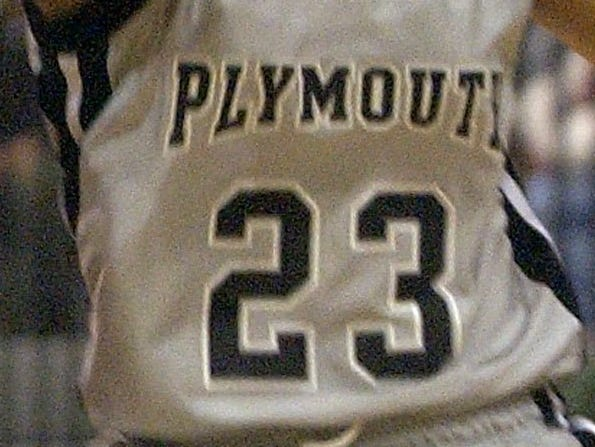 Plymouth girls basketball jersey