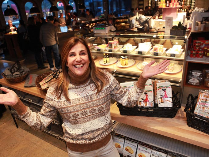 JoMarie Amato is the owner of the new Gaudino's in