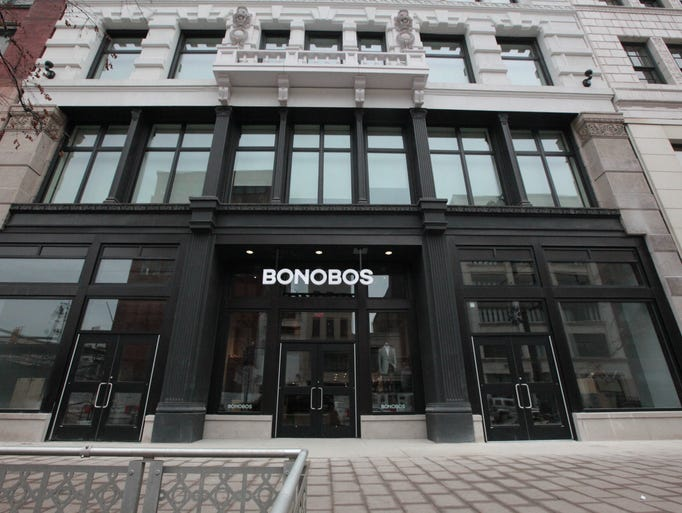 Bonobos, a menswear store that consults, fits and then