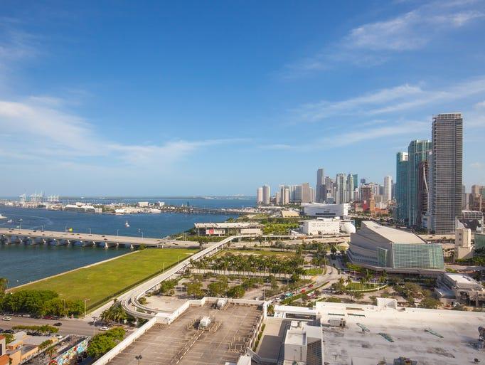 The Hilton Miami Downtown by Resort World Miami  has