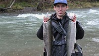Steelhead are making their way into Oregon rivers.