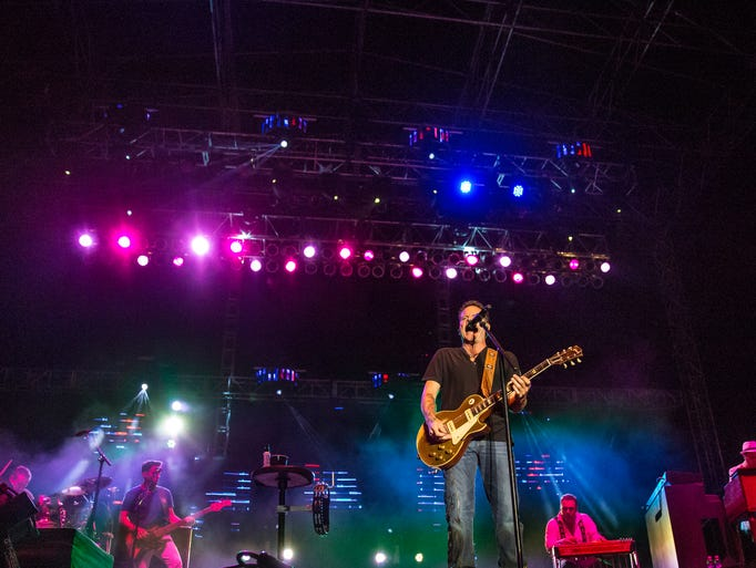 Country star Gary Allan was the headline performer at Country USA Thursday night, June 27, 2014.