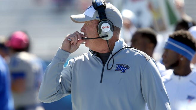 MTSU head coach Rick Stockstill said he wants to fill the defensive coordinator position by the end of this month.