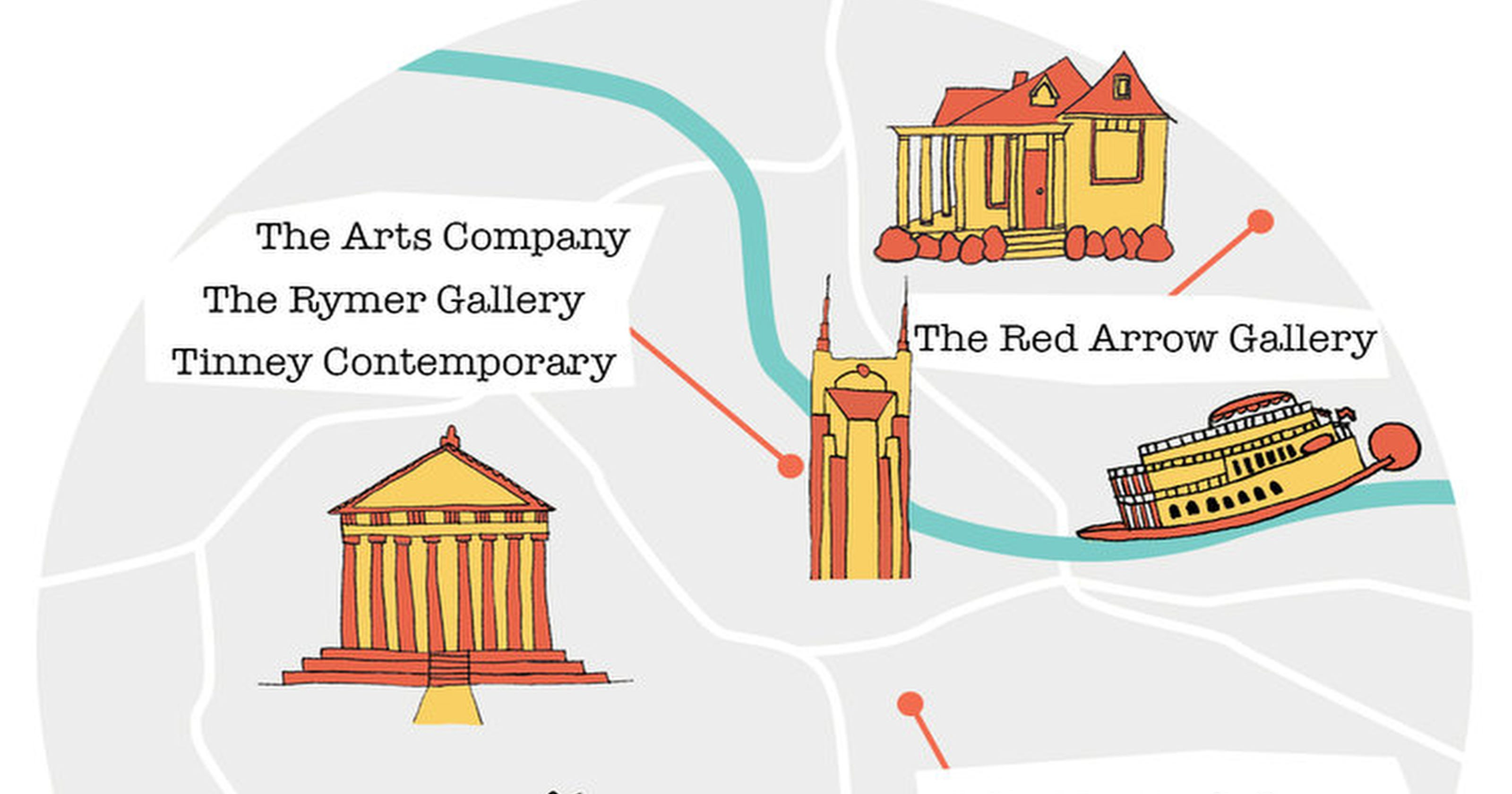 Celebrate local artists with Nashville's first Art Gallery Day