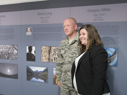 Pentagon Healing Arts Exhibit Opening