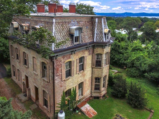 This intriguing 1800s home is in Stony Point.