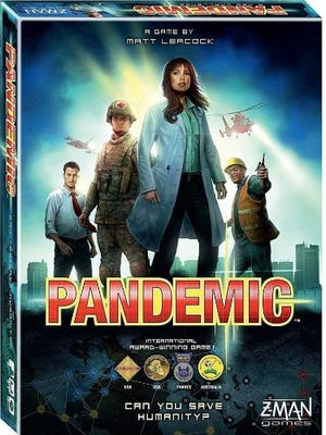 """Pandemic,"" the cooperative board game designed by Matt Leacock, was released in 2008 and spurred a series that includes a two-part ""Pandemic: Legacy"" series released in 2015."