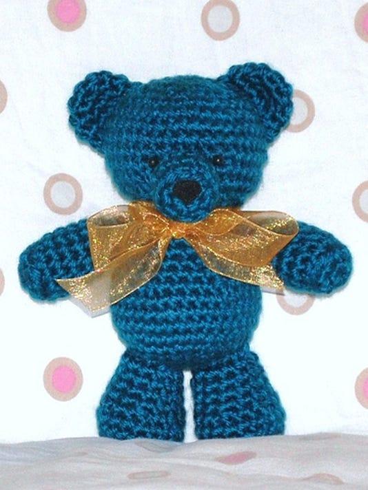 Crochet A Teddy Bear For Grace Healthcare