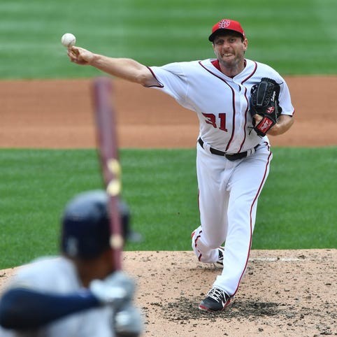 Aces Max Scherzer, Corey Kluber power LABR sweep