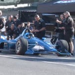 What's missing from the 2018 Indy car? A windscreen