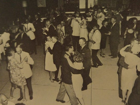 Couples dance at the Cape Coral Yacht Club which was