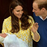 Photos: The new princess goes home