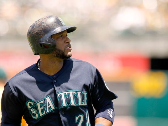 USP MLB: SEATTLE MARINERS AT OAKLAND ATHLETICS S [BBA OR BBN] USA CA