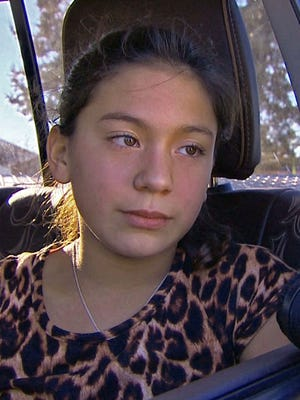 Eliza Medina, 11, said she was one of about two dozen students forced to pull down her pants for inspection.