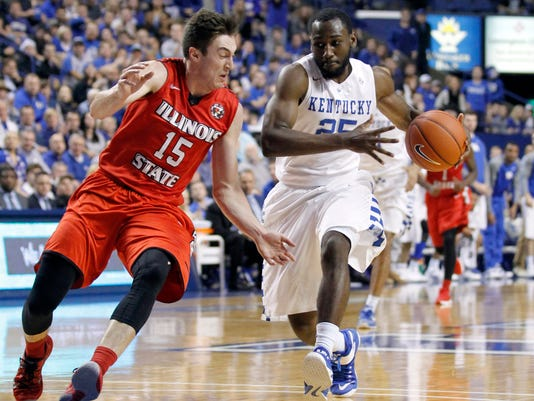 NCAA Basketball: Illinois State at Kentucky