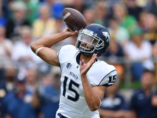 NCAA Football: Nevada at Notre Dame