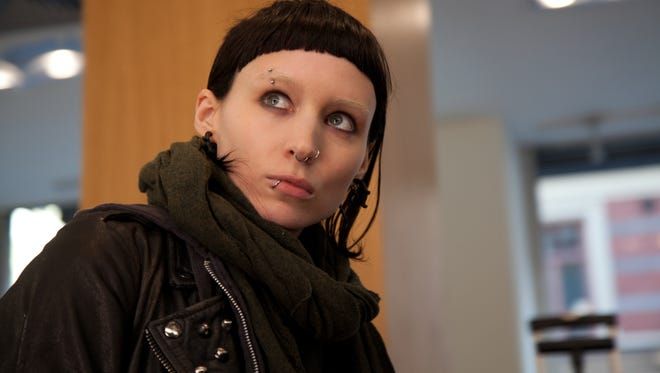 """Rooney Mara as Lisbeth Salander, in a scene from David Fincher's 2011 American version of  """"The Girl With The Dragon Tattoo."""""""