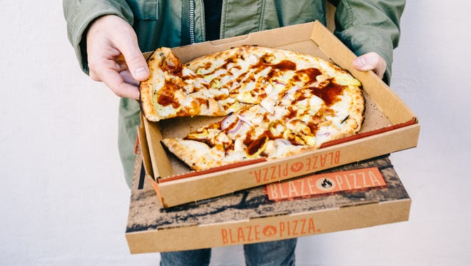 Free, create-your-own pizzas will be available Friday during the grand opening of Blaze Fast Fire'd Pizza in Thousand Oaks.