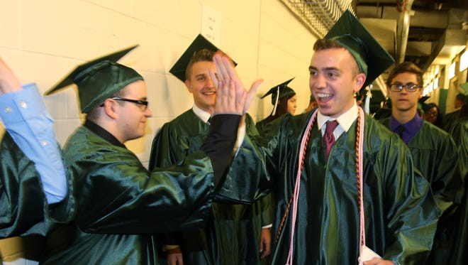 Class of 2016 Commencement for East Brunswick High School held at the Sun National Bank Center in Trenton on Thursday June 16, 2016.