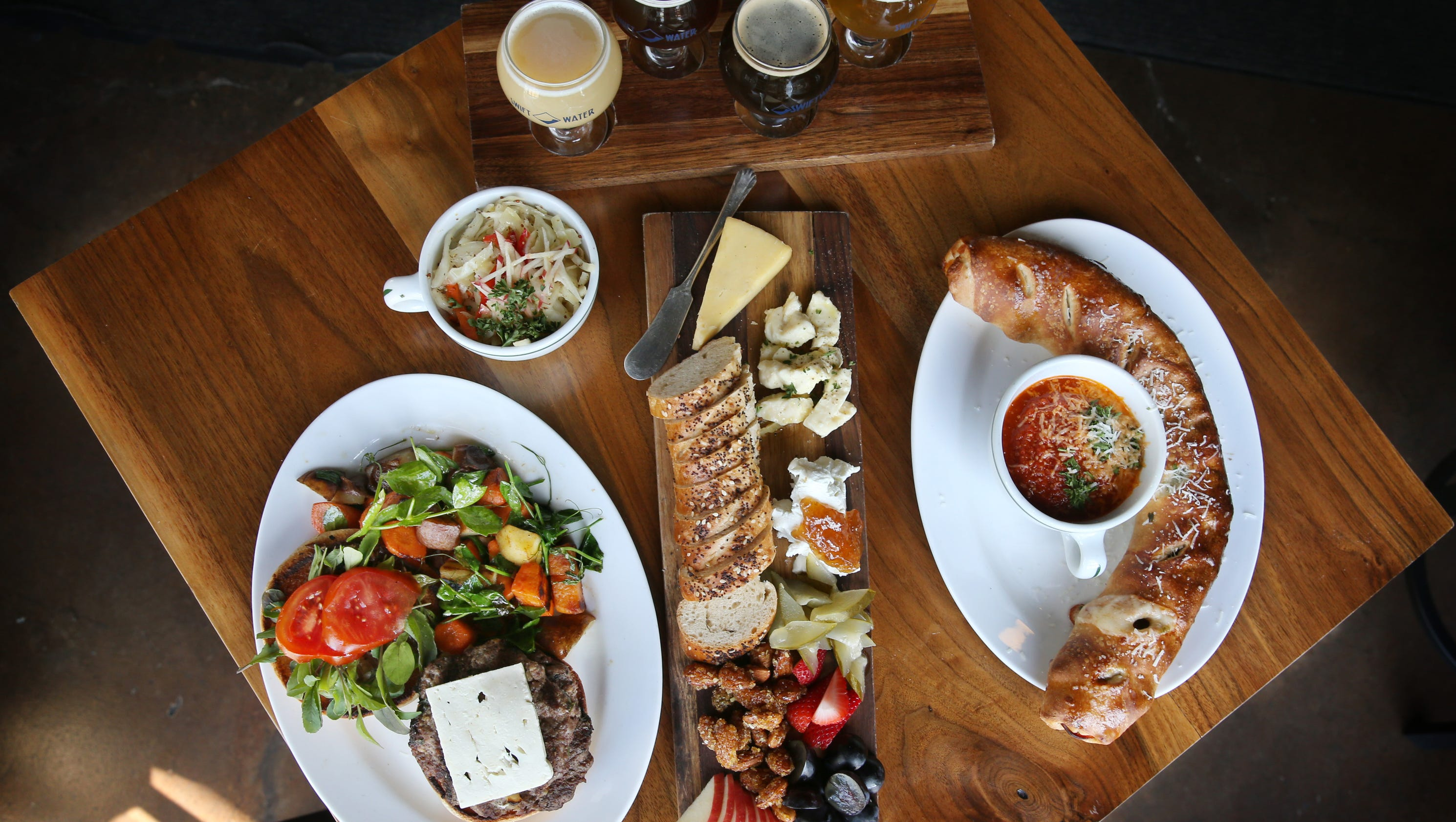 Restaurant review swiftwater brewing offers modest but