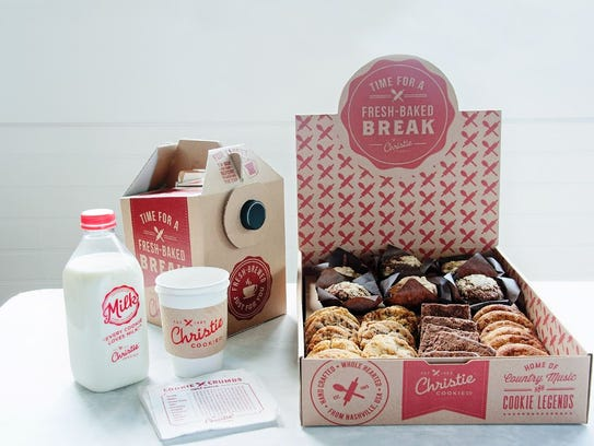 Christie Cookie Co. is now offering catering and delivery.