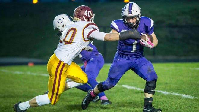 Central took on McCutcheon Oct. 6 in a home game at Muncie Central. McCutcheon won the game 45-0.
