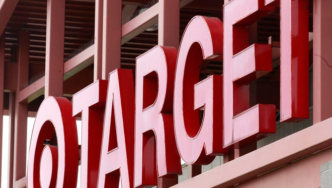 This Tuesday, May 17, 2011, file photo, shows a Target sign on the front of a Target Store, in Wilsonville, Ore. (AP Photo/Rick Bowmer, File)