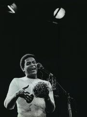 The late Al Jarreau, a seven-time Grammy winner, headlined Summerfest's Main Stage in his hometown of Milwaukee in 1982.