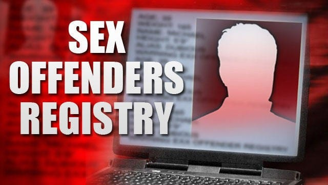Sex affenders registry