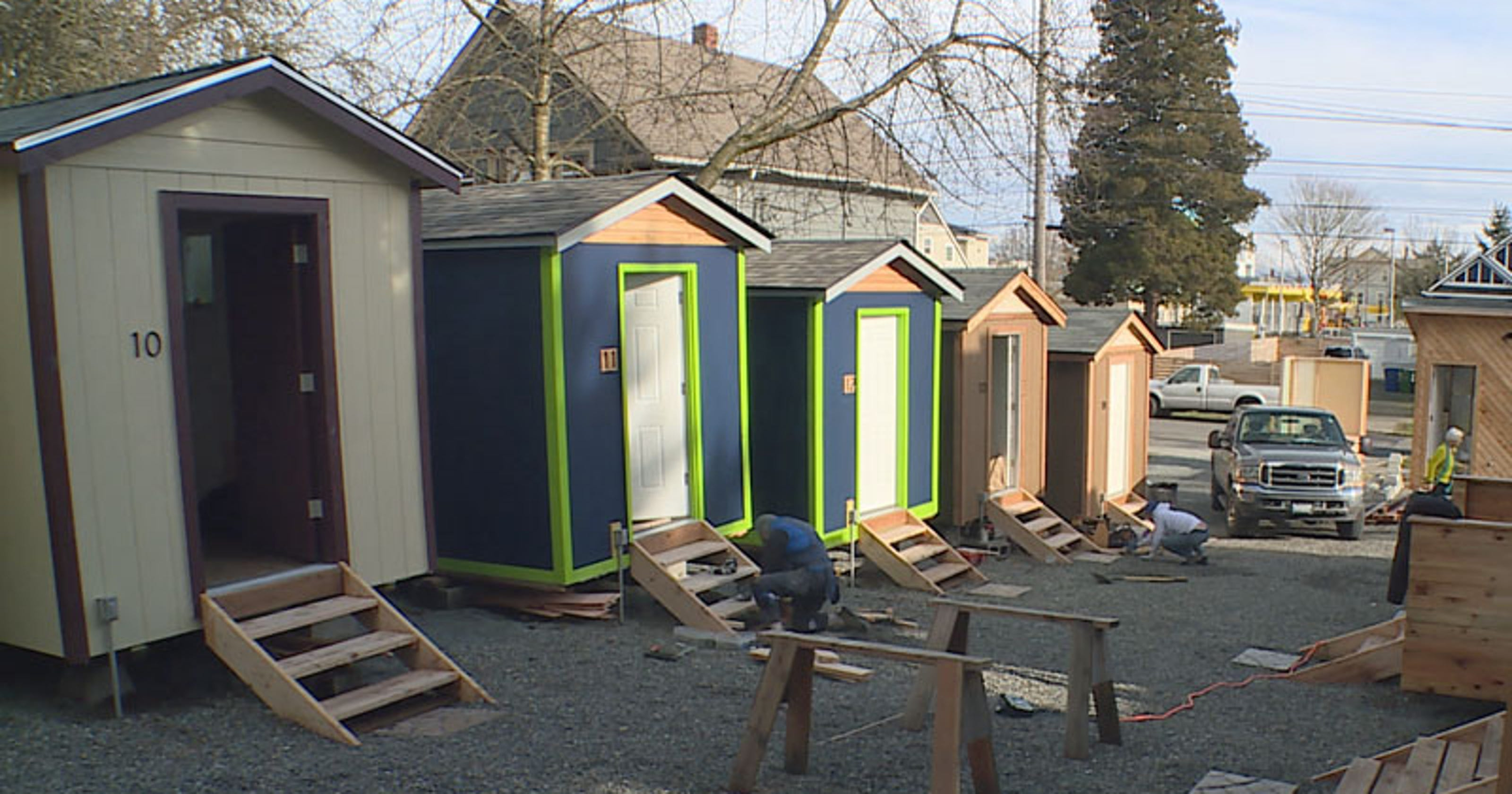Tiny House Village For Reno Homeless In The Works