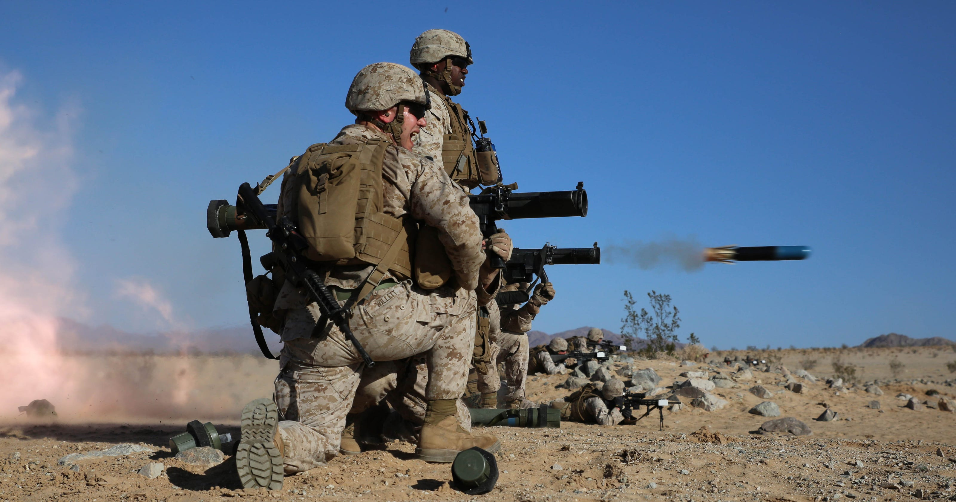 The Marines will remov...