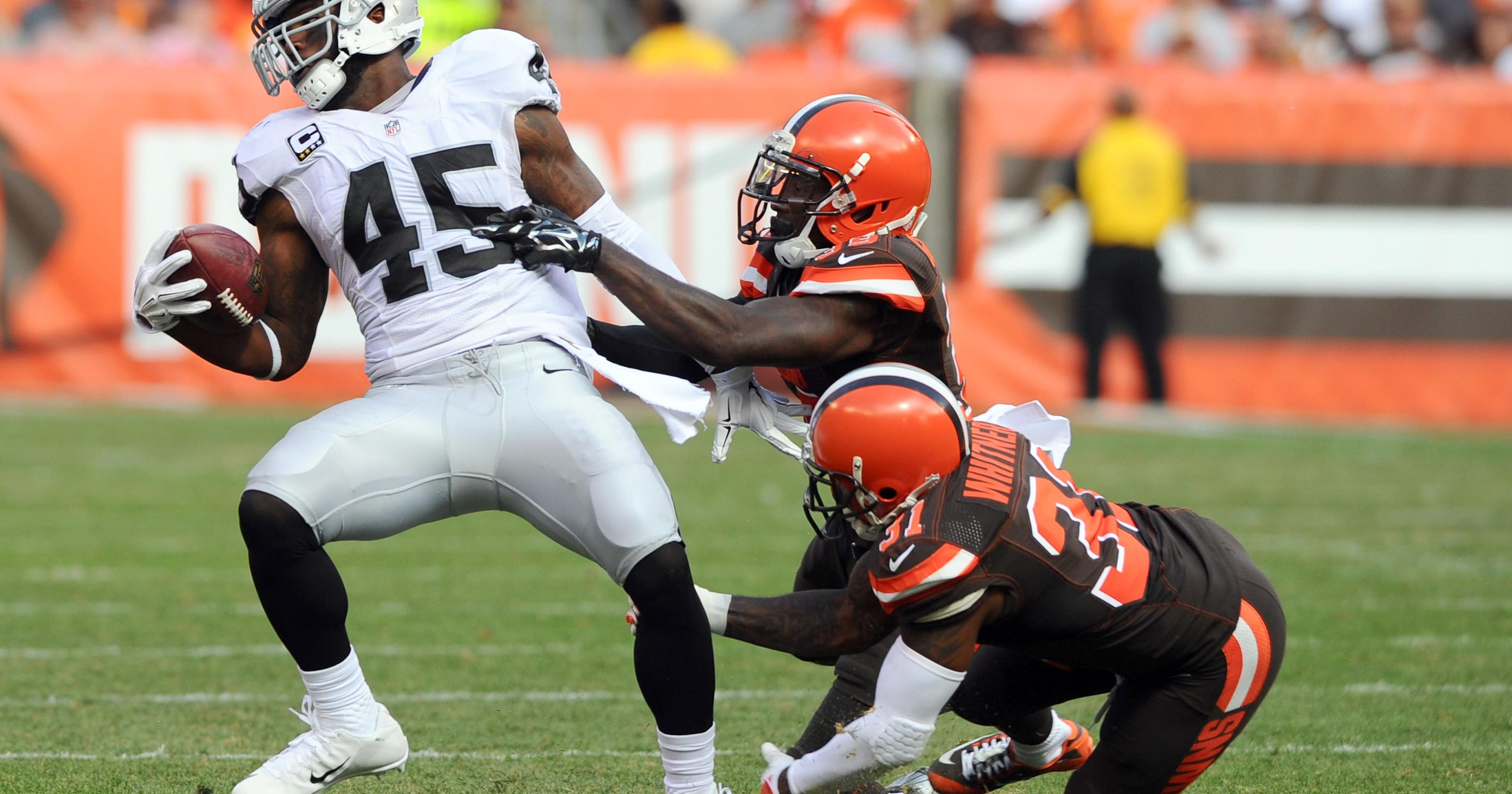 Browns Hope To Improve On Tackling Issues