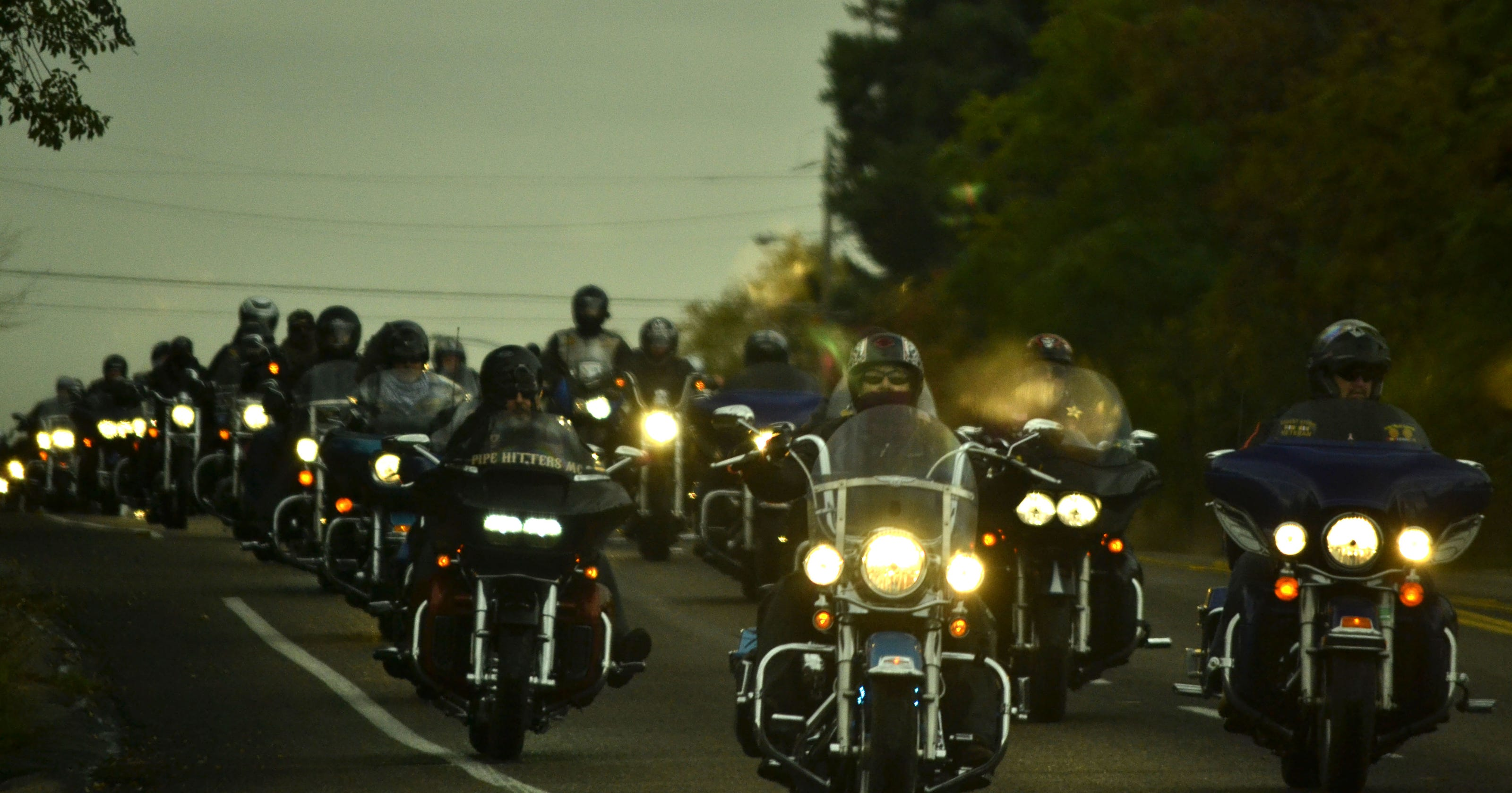 Toys For Tots Washington State : Bikers marines kick off annual toys for tots drive