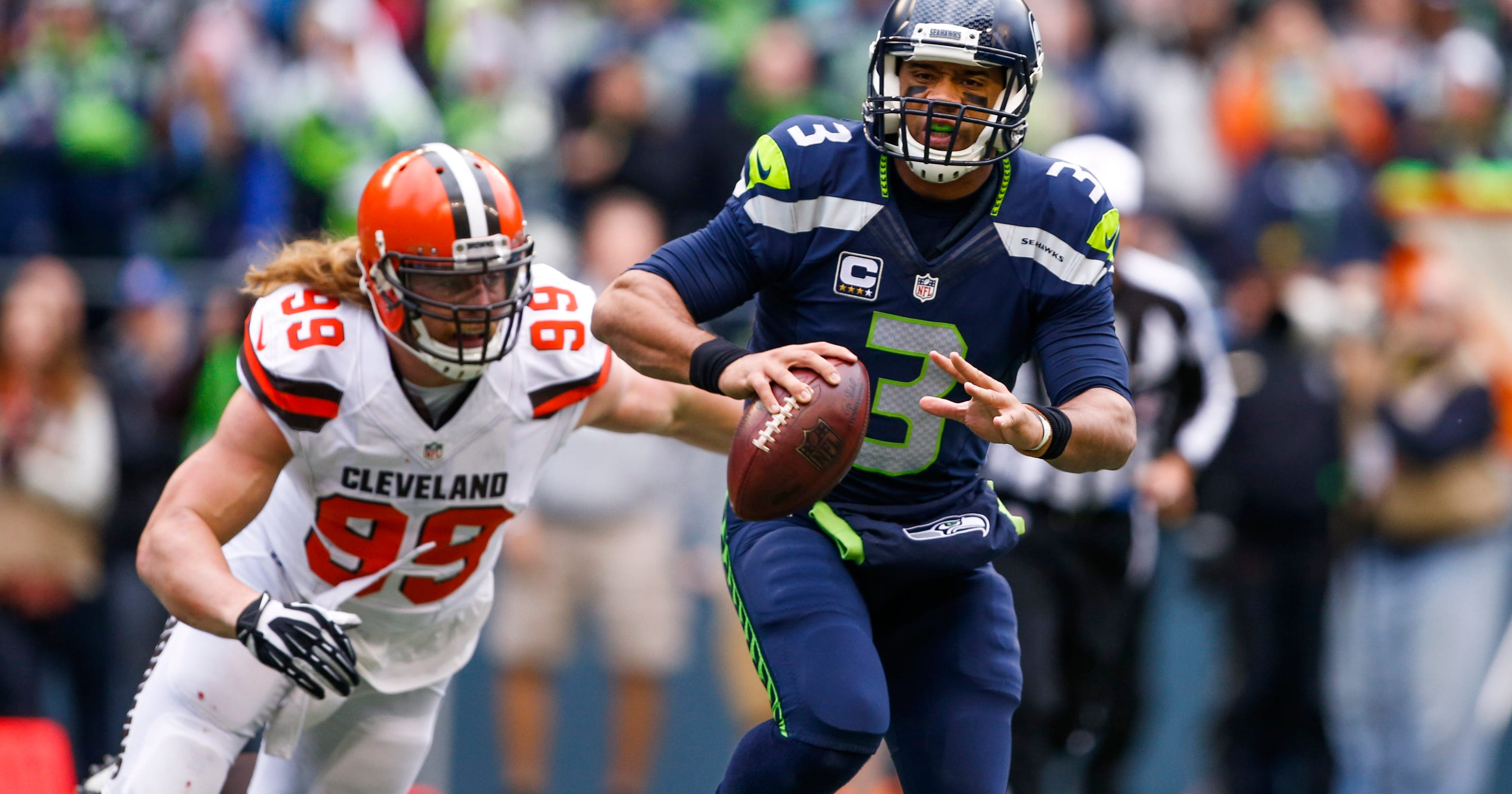 Russell wilson leads seahawks to 30 13 win over browns for Stahlwandbecken 3 60 x 0 90