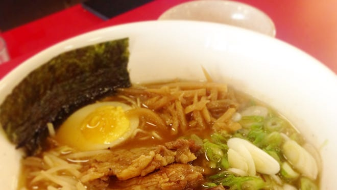 Shoyu ramen at Mokomiya Ramen in White Plains.